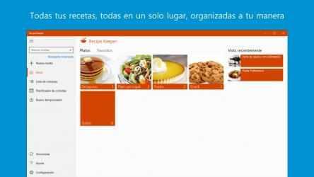Captura de Pantalla 1 de Recipe Keeper Pro para windows