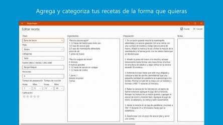 Captura de Pantalla 3 de Recipe Keeper Pro para windows