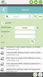 Screenshot 3 de ECDC Threat Reports para windows