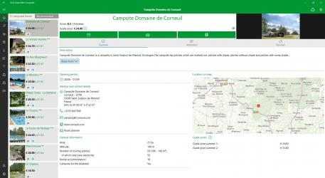 Screenshot 2 de ACSI Campings Europa para windows