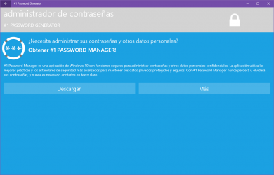 Captura 13 de #1 Password Generator para windows