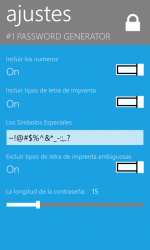 Screenshot 6 de #1 Password Generator para windows