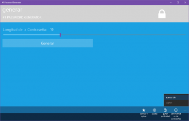 Captura 9 de #1 Password Generator para windows