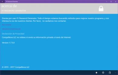 Screenshot 14 de #1 Password Generator para windows