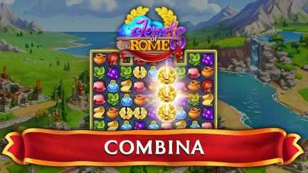 Captura de Pantalla 1 de Jewels of Rome: Juego de combinar gemas para windows