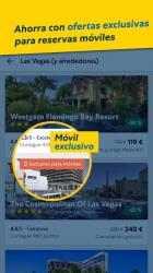 Captura de Pantalla 3 de Expedia: ofertas en hoteles, vuelos y coches para android