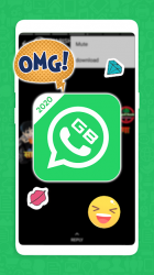 Captura 3 de GB Wassapp plus  - Gbwasapp Theme of GbWhaspp para android