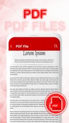 Captura de Pantalla 4 de lector de todos los documentos: visor de documento para android