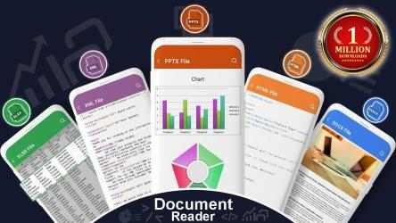 Captura de Pantalla 10 de lector de todos los documentos: visor de documento para android