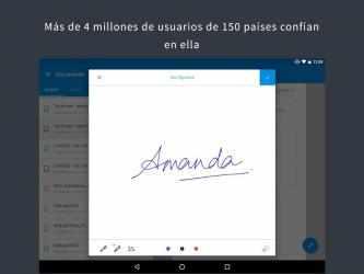 Captura de Pantalla 9 de SignEasy   Firma y completa PDF y otros documentos para android