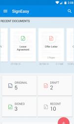 Imágen 8 de SignEasy   Firma y completa PDF y otros documentos para android