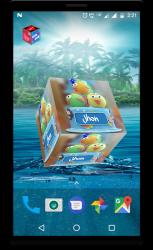 Imágen 2 de 3D My Name Cube Live Wallpaper para android