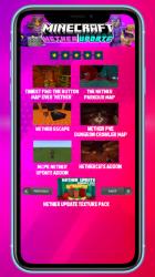 Screenshot 7 de MCPE new Nether Update para android