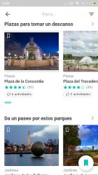 Captura 4 de Paris Guía de viaje offline para android