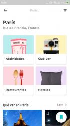 Captura de Pantalla 2 de Paris Guía de viaje offline para android