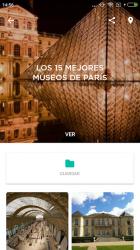 Captura de Pantalla 5 de Paris Guía de viaje offline para android