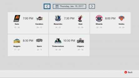 Imágen 2 de NBA app para windows