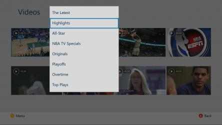 Screenshot 4 de NBA app para windows