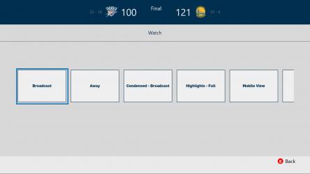 Captura de Pantalla 3 de NBA app para windows