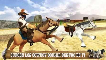 Screenshot 3 de Cowboy Horse Riding Simulation para windows