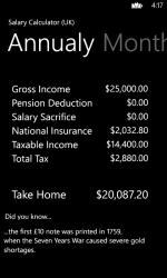 Imágen 3 de Income Calculator (UK) para windows