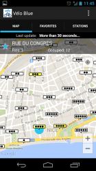 Captura de Pantalla 3 de Vélo Blue - Niza para android