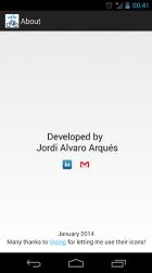 Captura de Pantalla 6 de Vélo Blue - Niza para android