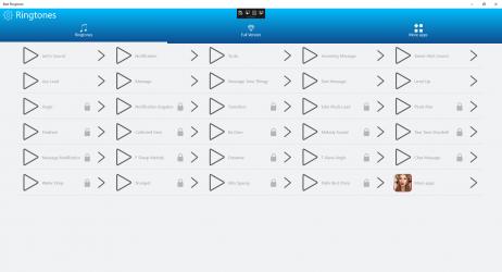 Screenshot 2 de SMS Sounds para windows