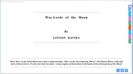 Captura 10 de War-lords of the Moon para windows