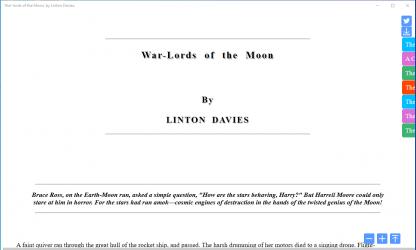 Screenshot 1 de War-lords of the Moon para windows