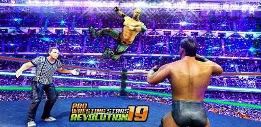 Screenshot 2 de revolución las estrellas lucha libre profesional para android