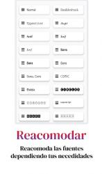 Screenshot 8 de Fonts Aa - Teclado de fuente y emoji para android