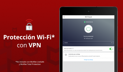 Captura 12 de Mobile Security: Wi-Fi segura con VPN y antirrobo para android