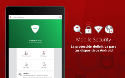 Captura 10 de Mobile Security: Wi-Fi segura con VPN y antirrobo para android