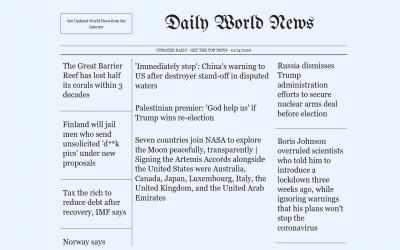 Captura 1 de Top World News para windows