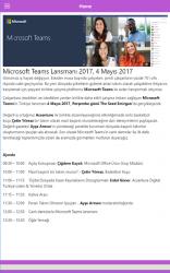 Screenshot 3 de Microsoft Teams Lansman para android
