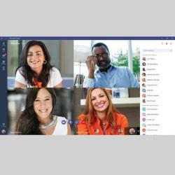 Captura de Pantalla 1 de Microsoft Teams Lansman para android