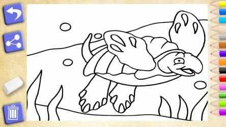 Screenshot 8 de Colorear dinosaurios. Juegos educativos para niños para windows