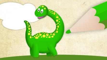 Captura de Pantalla 5 de Colorear dinosaurios. Juegos educativos para niños para windows