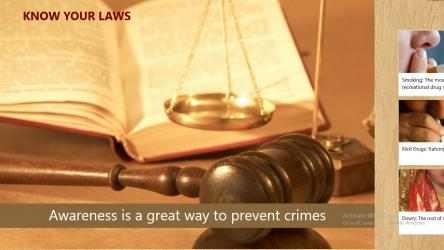 Captura 1 de Know Your Laws para windows