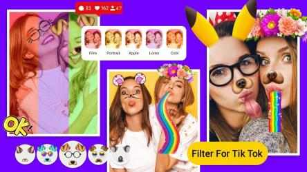 Captura 2 de Filter For Tik Tok para android