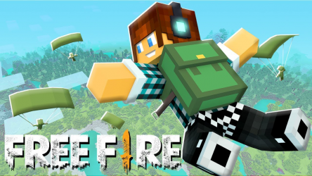 Screenshot 4 de Mod FREE FIRE for Minecraft para android