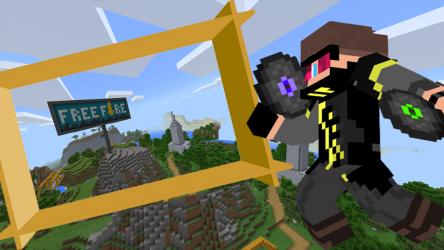 Captura 3 de Mod FREE FIRE for Minecraft para android