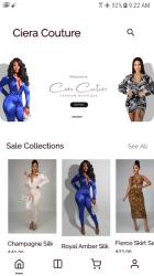 Screenshot 2 de Ciera Couture para android