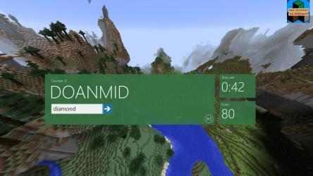 Screenshot 2 de Word Unscramble for Minecraft para windows