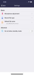 Screenshot 10 de Grabador de voz: editor de aud para iphone