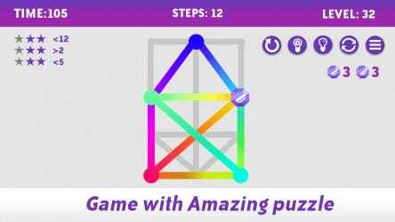 Screenshot 8 de One Touch Drawing Puzzle Game - 1Line para windows