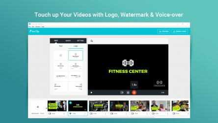 Screenshot 4 de FlexClip: Video Editor & Movie Maker para windows