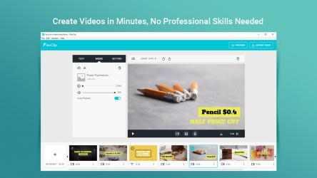 Captura 1 de FlexClip: Video Editor & Movie Maker para windows