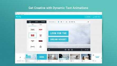 Screenshot 2 de FlexClip: Video Editor & Movie Maker para windows